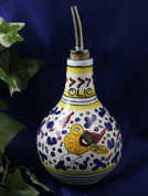 Deruta Arabesco Multi Olive Oil Bottle OOG102-ARB
