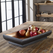 Copper Bowl, Tuscan Bowl, Tuscan Rustic Bowl