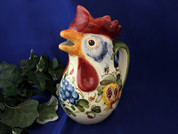 Tuscany Bees Rooster Pitcher, Toscano Bees Rooster Pitcher, Bumble Bee Rooster Pitcher, Italian Rooster Pitcher