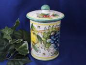 Tuscany Bees Biscotti Jar, Tuscany Bees Canister, Bumble Bee Biscotti Jar, Tuscany Biscotti Jar