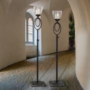Tuscan Floor Candle Holder, Floor Candelabra, Tuscan Candle Holder