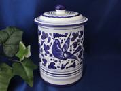 Deruta Arabesco Biscotti Jar Canister