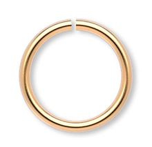100 Gold Plated Brass 10mm Round 18 Gauge Jump Rings