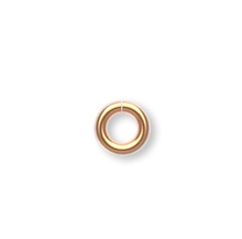 100 Gold Plated Brass 3mm Round 20 Gauge Jumprings