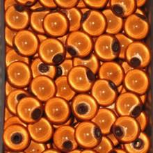 1 Strand Orange Acrylic 10mm Japanese Round MIRACLE Beads *