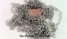 "100"" Antiqued Silver Plated Medium Wide Cable Chain ~ 4x5mm Links *"