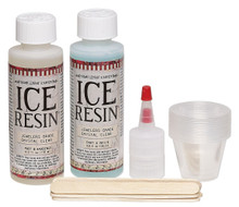 ICE Resin 2-Part Setup Dries Clear  21-Piece Set