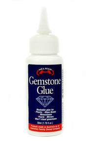 1.7oz Bottle Helmar Clear Gemstone Glue Acid Free & Dries Clear