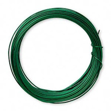 15 yards Tarnish Resistant  20 Gauge Emerald Green Wrapping Wire *