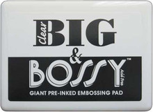 1 Big & Bossy Jumbo Clear Embossing Stamp Pad ~ Acid Free  *