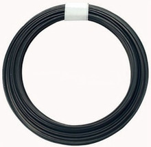 50 Foot Spool Annealed Dark Black 19 Gauge Round Wrapping Wire