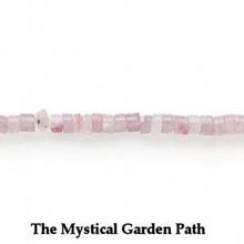 "15"" Strand Natural Lilac Stone Heishi Beads * 3x1-4x4mm *C Grade  *"