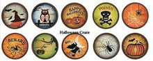 "Vintage 1"" Bottle Cap Images Alphabets, Halloween, Birds, Seasonal & More  NP"