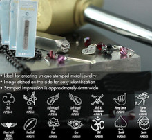Steel Stamp Punches OM, Bird, Symbols, Seasonal, Skull, Vine, Eye, Wings & More