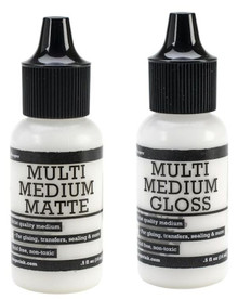 1/2 Ounce Ranger Multi Medium Gel Bottle ~ Gloss OR Matte Finish