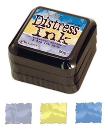 Set of 3 Limited Edition Seasonal Tim Holtz Spring Distress Ink Pads *