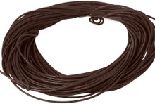 5 Meters Bead Smith Brown Greek Leather Cord ~ 1.5mm Round
