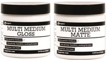 3.8 Oz Jar Ranger Multi Medium Gel Jar ~ Gloss OR Matte Finish ~ Artist Quality