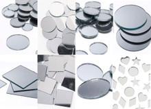 Genuine Decorative Glass & Acrylic Mirrors Circles, Squares, Ovals & Mixes