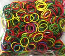 1000 Stretch Elastic Band Latex Free Bracelet Loops Assortment