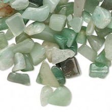 50 Grams Green Aventurine Medium-Large UNDRILLED Chips ~ Embellishment *