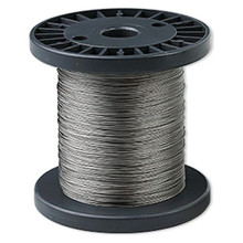 1000 Foot Spool TigerTail Beading Wire  ~ .012-Inch~ Clear ~ 7 Strand