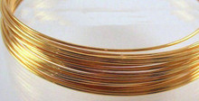 19.7 Feet Gold Plated 20 Gauge 0.8mm Wrapping Wire