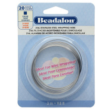 9.8 Feet Stainless Steel Square Wrapping Wire ~ 20  Gauge