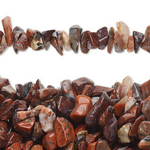 "34"" Strand Natural Brecciated Jasper Medium Chip Beads"