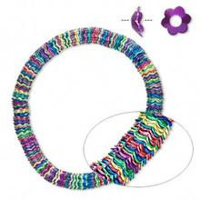 300 Multi Jewel Tone Steel Daisy Flower Bead Caps ~ 6x2.5mm ~ Fits 6-8mm Beads