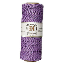 205 Foot Spool Polished Hemp Cord ~ Purple ~ 1mm ~ 20lb Test