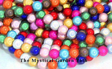100 Acrylic 4mm Japanese MIRACLE Beads MIX *