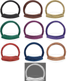 45 Feet Anodized Aluminum Wire for Wrapping ~  20 gauge ~ 0.8mm Round