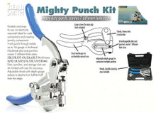 1 Bead Smith Metal Hole Mighty Punch Kit  ~ 7 Punch Sizes