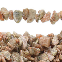 "34"" Strand Natural Autumn Jasper Medium Chip Beads"
