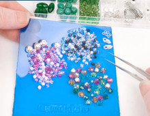 1 Beadalon TACKY Bead Mat Holds Small Beads & Findings in Place!