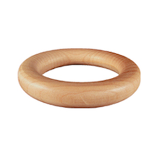 "10 Wooden Large 2-1/4""OD Round Toss Rings"