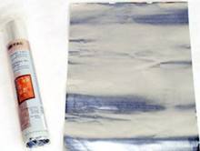 "1 Silver Metal 8.5x11"" Roll For Embossing &  Altered Art *"