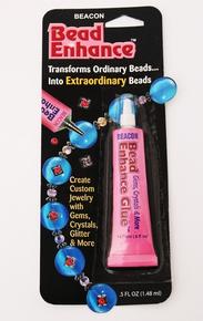 .5 Oz Beacon's BEAD ENHANCE GLUE Create Custom Beads  *