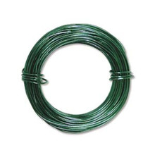 39ft Kelly Green Aluminum Wire for Wire Wrapping ~ 18 gauge