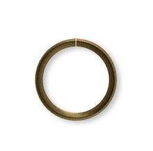 500 Antiqued Brass Steel 7mm Round 21 Gauge Jump Rings