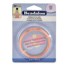 19.7 Feet German Copper Wire for Wrapping Beads ~ 20  Gauge