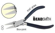 1 BeadSmith Extra Fine Round Nose Double Nylon Jaw Pliers