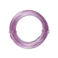 39ft Lavender Aluminum Wire for Wire Wrapping ~ 18 gauge