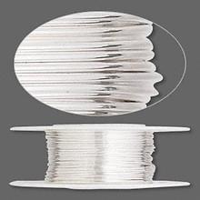 5 Feet Argentium Sterling Silver Dead Soft Round Wire ~ 22 gauge