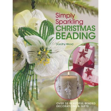 1 Simply Sparkling Christmas Beading Book With Over 35 Beaded Decorations *
