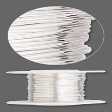 5 Feet Argentium Sterling Silver Dead Soft Round Wire ~ 24 gauge
