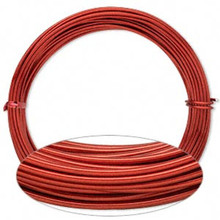 45 Feet Red Aluminum 12 gauge Wire for Wire Wrapping *