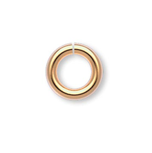 100 Gold Plated Brass 5mm Round 18 Gauge Jumprings