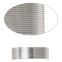 25 Foot Spool Sterling Silver Dead Soft Round Wrapping Wire ~ 24 gauge